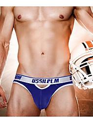 Men Sexy nylon mesh Briefs  Underwear