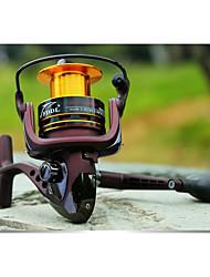 Reel Fishing Roulement Moulinet spinnerbaits 5.5:1 11 Roulements à billes EchangeablePêche d'eau douce Pêche au leurre Pêche générale