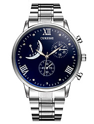 Hombre Reloj de Vestir Reloj de Moda Reloj Casual Simulado Diamante Reloj Reloj de Pulsera Reloj creativo único Chino CuarzoMetal