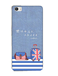 For Xiaomi Mi 5 Case Cover Pattern Back Cover Case Cartoon Soft Silicone