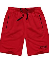 Per uomo Pantaloncini da corsa Casual Pantaloncini /Cosciali per Corsa Esercizi di fitness Tessuto sintetico M L XL XXL