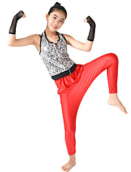 MiDee Performance Outfits Women's / Children's Performance Spandex / Sequined Hip-Hop /  5 Pieces Modern Dance