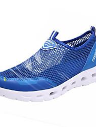 Men's Athletic Shoes Water Shoes Running Comfort Tulle Summer Outdoor Flat Heel Dark Grey Light Grey Royal Blue Under 1in