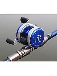 Reel Fishing Roulement Moulinet bait casting 4.7:1 12 Roulements à billes Droitier GaucherPêche en mer Pêche à la mouche Pêche d'eau