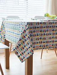 Excellent Quality Colored Fish Cotton And Linen Material Modern Table Cloth 40*60cm