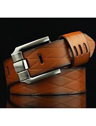 Men's clothing joker pin buckle belts fashion retro locomotive belt joker cowboy belts