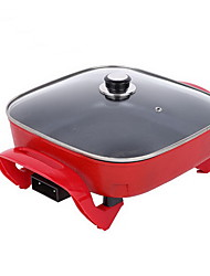 Korean Small Multi-function Electric Non-stick Barbecue Electric Hot Pot