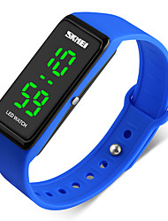 Women's Men's Sport Watch Digital Watch Digital PU Band Black Blue Red Green Grey Navy