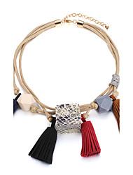Жен. Ожерелья-бархатки Бижутерия Круглый Геометрической формы БукПрочный Религиозные украшения вбок Pоскошные ювелирные изделия