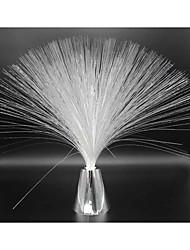 Beautiful Romantic MultiColor Changing LED Fiber Optic Nightlight Lamp Holiday Wedding small night light