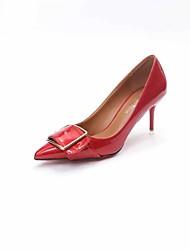 Women's Heels Formal Shoes Comfort PU Fall Wedding Office & Career Party & Evening Dress Walking Formal Shoes Comfort Stiletto HeelRuby