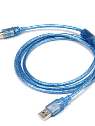 USB 2.0 Cable, USB 2.0 to USB tipo B Cable Macho - Macho 1,5 m (5 pies)