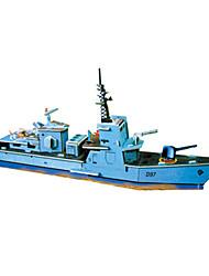 Jigsaw Puzzles DIY KIT 3D Puzzles Building Blocks DIY Toys Ship Christmas Hard Card Paper