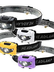 Linternas de Cabeza LED 500 Lumens 4.0 Modo LED No incluye baterías 3 Modos Impermeable Emergencia Super Ligero Peso ligero Luz LED Fácil