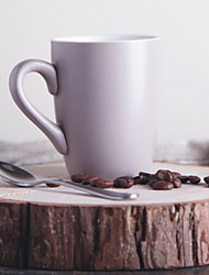 Porcelain Mug Cup Foreign Trade Export Ceramic Water Cup End Single Milk Cup 225ml With Spoon