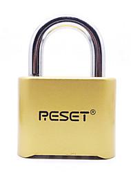 RST-011 Mini Password Padlock Pure copper 4-digit password Metal password Lock Door Lock for Luggage Lock Dail Lock Password Lock