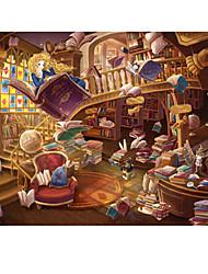 Jigsaw Puzzles Jigsaw Puzzle Building Blocks DIY Toys House Cartoon Wooden