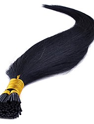 100% Indian Virgin Remy Hair Double Drawn Silky Straight Pre-bonded/Keratin Stick-Tip or I-Tip Hair Extensions 0.5g/strand 100s