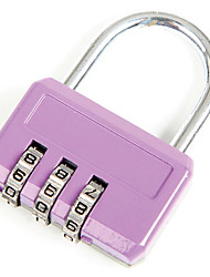 SANTO 0412  Zinc Alloy Padlock 3 Digit Password Baggage Lock Bag Lock Gym Lock Dail Lock Password Lock
