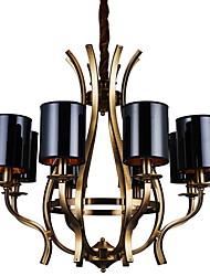 Подвесные лампы ,  Традиционный/классический Старая латунь Особенность for Мини Металл Столовая Кабинет/Офис