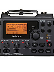 Tascam DR-60DMKII Digital Voice Recorder SLR Micro Motion 4-Track Recording Built-In Mixer