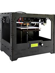 Duplicatore di legno del geeetech 5 diy doppio stampatore 3d dell'estrusore