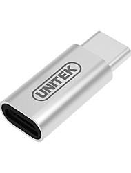 Unitek USB 3.0 Tipo C Adaptador, USB 3.0 Tipo C to Micro USB 3.0 Adaptador Macho - Hembra