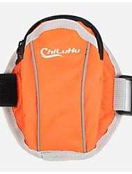 Unisexe Mobile Bag Phone Tissu Oxford Polyester Toutes les Saisons Décontracté Rondes Fermeture Bleu Vert Orange