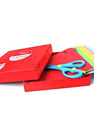 Kit de Bricolaje Cuadrado Papel 3-6 años de edad
