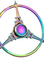 Fidget Spinner Paris Eiffel Tower Metal Hand Spinner Toys New Hot Gift