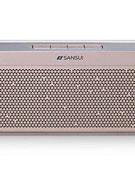 SANSUI T6  Speaker  Bluetooth 4.0  Channel 2.0  8w Dual 360 Stereo AUX Multimedia Connectable Computer 2200mAH