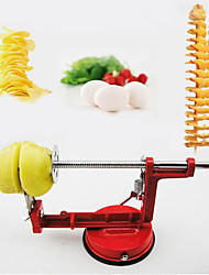 1Set Tornado Spiral Potato Cutter Slicer Twist Potato Cutting Machine Potato Clips Slicer Cutter Tower Vegetable Cooking Tools