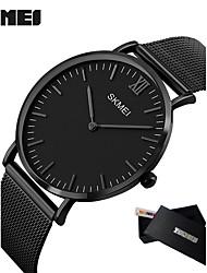 Hombre Reloj Deportivo Reloj de Vestir Reloj Smart Reloj de Moda Reloj de Pulsera Chino Cuarzo LED Calendario Esfera Grande Metal Banda