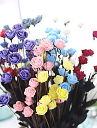 19inch Large Size 75 Heads Silk Polyester Peonies Tabletop Flower Artificial Flowers