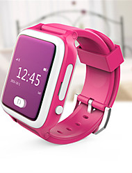 Men's Kid's Smart Watch Digital Rubber Band Blue Pink