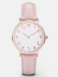 Fashion Arabic Numbers Women Watch Top Luxury Brand Leather Wristwatch Lady Casual Quartz Watch Montre Femme