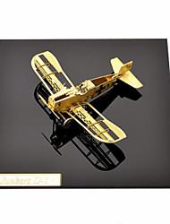 Puzzles Kit de Bricolage Puzzles 3D Puzzles en Métal Blocs de Construction Jouets DIY  Avion