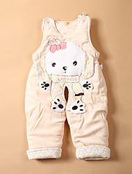 Baby Children's New Baby Casual Baby Shower Stripes Animal One-Pieces,Cartoon All Seasons