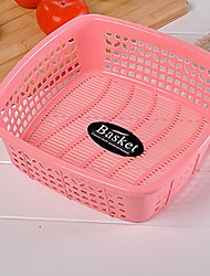 Hollow Leaping Water and Vegetables Storage Basket Plastic Washing Basket