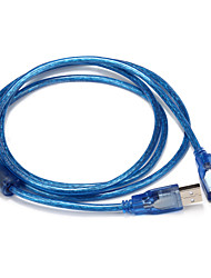USB 2.0 Cable, USB 2.0 to USB 2.0 Cable Male - Male 1.5m(5Ft)
