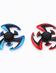 2 Pcs Fidget Spinner Toy Made of Titanium Alloy Ceramic Bearing Minutes Spinning Time High-Speed EDC Focus Toy for Killing Time