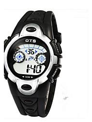 Men's Fashion Watch Quartz Leather Band Charm Black