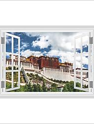 Architektura Komiks Historie Samolepky na zeď Samolepky na stěnu 3D samolepky na zeď Ozdobné samolepky na zeď Materiál Home dekorace