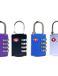 Jasit TSA309 Password unlocking 4 Digit Password Luggage Lock Dail Lock Password Lock TSA Lock