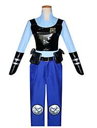 Ternos de Cosplay Crachá Bolsa Mais Acessórios Inspirado por Fantasias Fantasias Anime Acessórios para CosplayColete Camisa Calças Cinto
