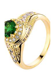 Mujer Soporte del anillo Anillos Anillo Zirconia Cúbica CristalDiseño Básico Diseño Único Diamantes Sintéticos Joyería de Lujo Estilo
