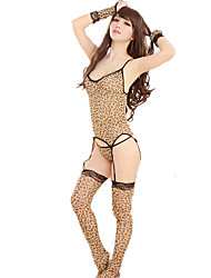 Ladies Sexy Lingerie Leopard Suit
