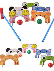 Pretend Play Action Figures & Stuffed Animals Educational Toy Natural Wood 3-6 years old