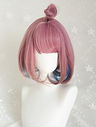 Punk Lolita Short Mixed Color Lolita Wig