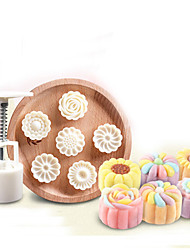 3D Moon Cake Mold Hand 50g Hand Pressing Mid Autumn Three-dimensional Arch Moon Cake Molds